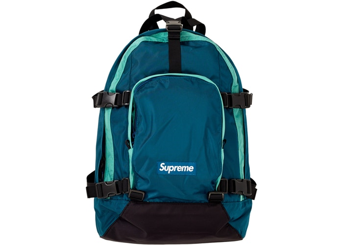 SUPREME - BACKPACK F/W19 (DARK TEAL)