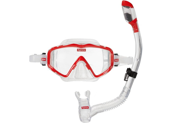 SUPREME/CRESSI - SNORKEL SET (RED)