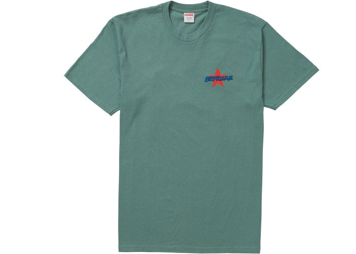 SUPREME - MONEY POWER RESPECT TEE (TEAL)