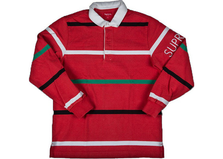 SUPREME - STRIPED RUGBY (RED)