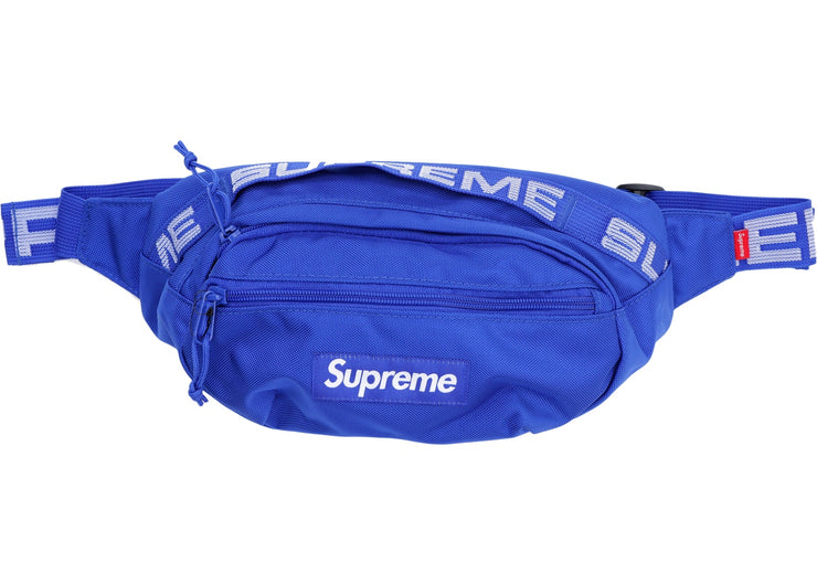 SUPREME - WAIST BAG S/S '18 (BLUE)