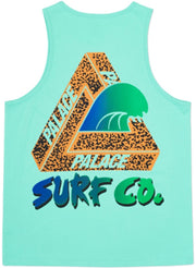 PALACE - SURF CO VEST TEE (LIGHT GREEN)