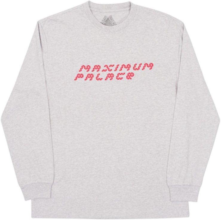 PALACE - TRI-FLECT L/S TEE (GREY)