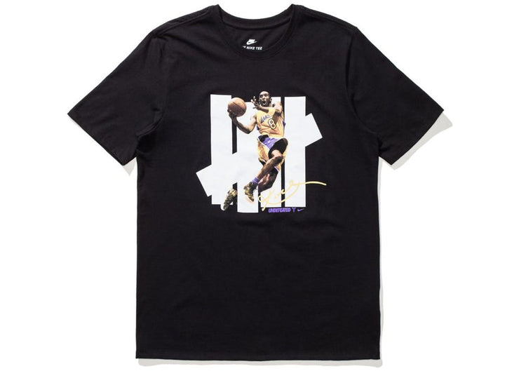NIKE/UNDEFEATED - 5 STRIKE KOBE T-SHIRT (BLACK)
