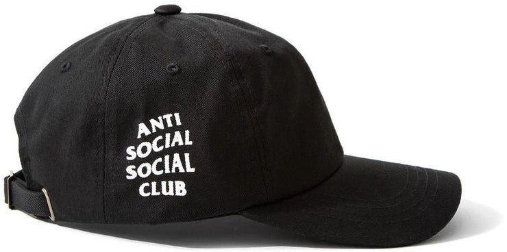 ANTI SOCIAL SOCIAL CLUB - WEIRD CAP (BLACK)