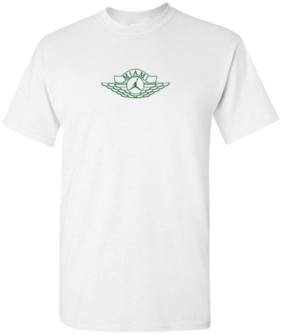 AIR JORDAN/SOLEFLY - WINGS LOGO TEE (WHITE)