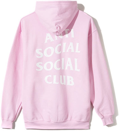 ANTI SOCIAL SOCIAL CLUB - KNOW YOU BETTER ZIP UP HOODIE (PINK)