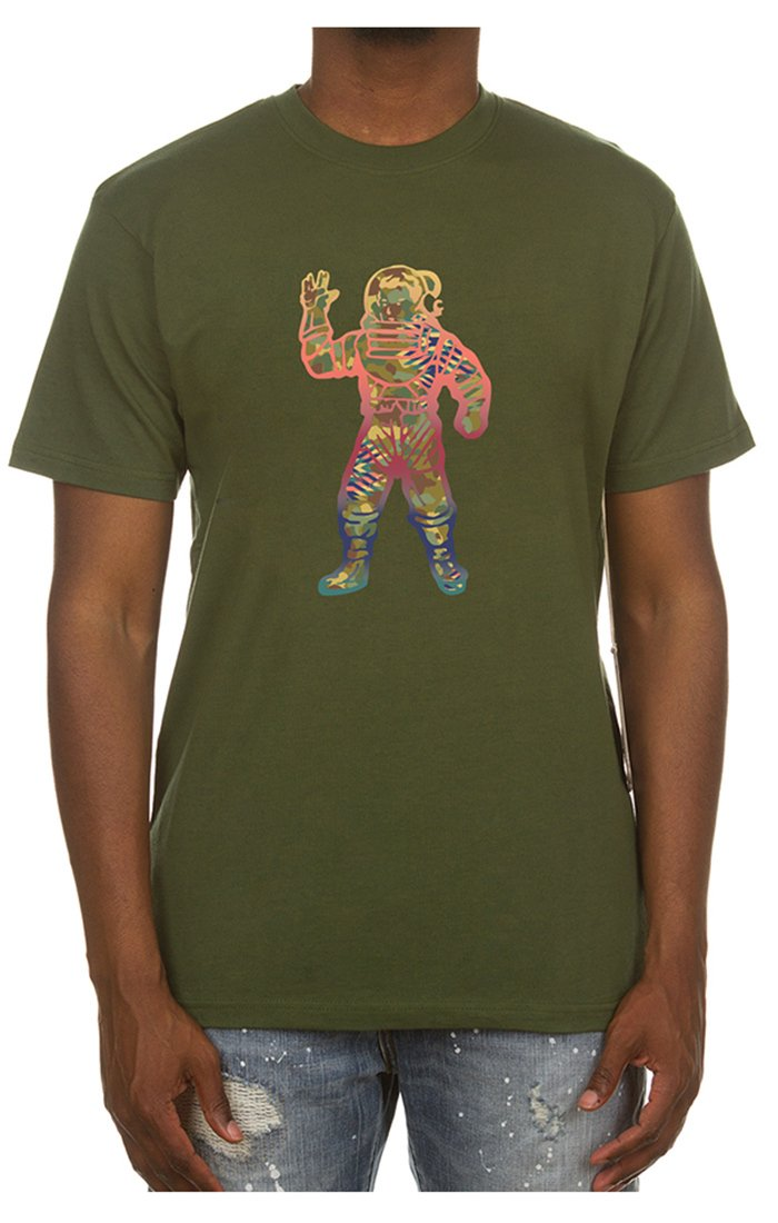 BILLIONAIRE BOYS CLUB - BB COSMIC NOISE SS TEE (LODEN GREEN)