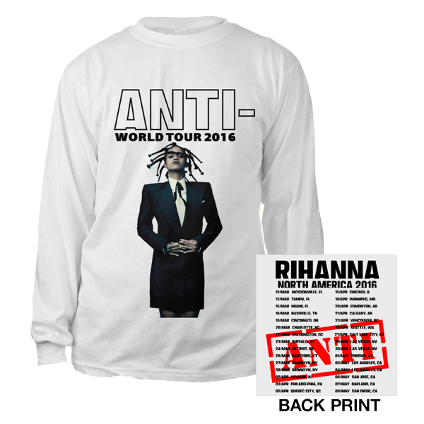 Rihanna - Anti Tour L/S T-Shirt