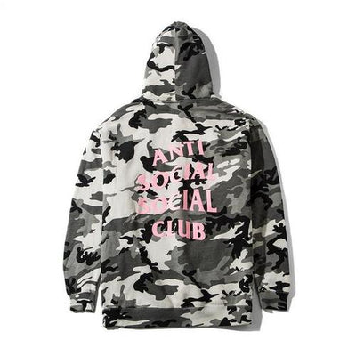 ANTI SOCIAL SOCIAL CLUB - NOT A GILDAN HOODIE (SNOW CAMO)