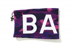 BAPE - 1ST CAMO NECK WARMER (PURPLE)