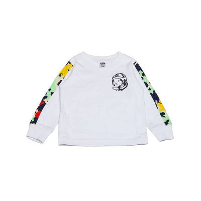 BILLIONAIRE BOYS CLUB (KIDS) - BB COMMANDER LS TEE (WHITE)