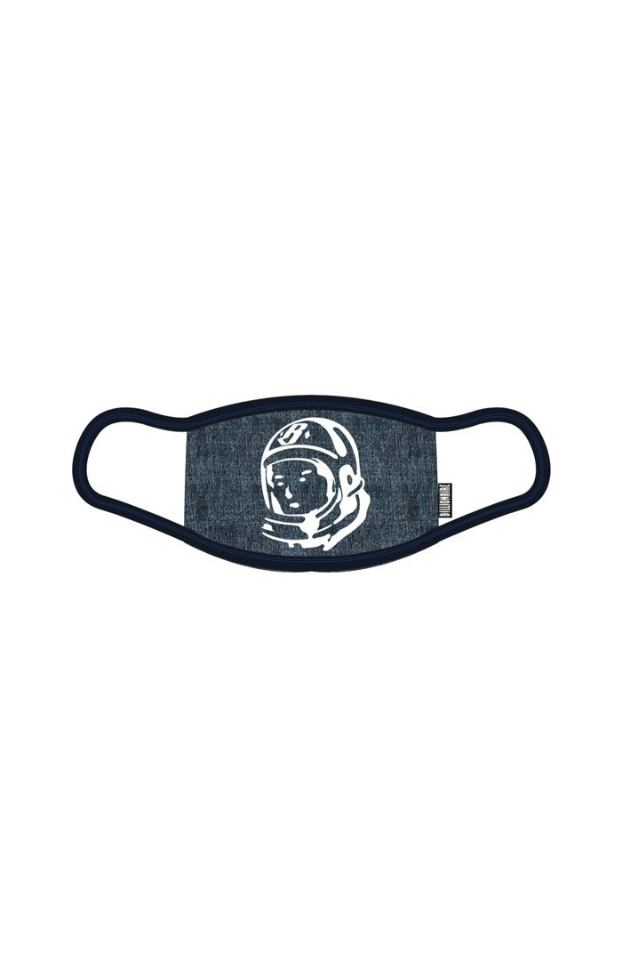 BILLIONAIRE BOYS CLUB - BB DENIM HELMET MASK (INDIGO)