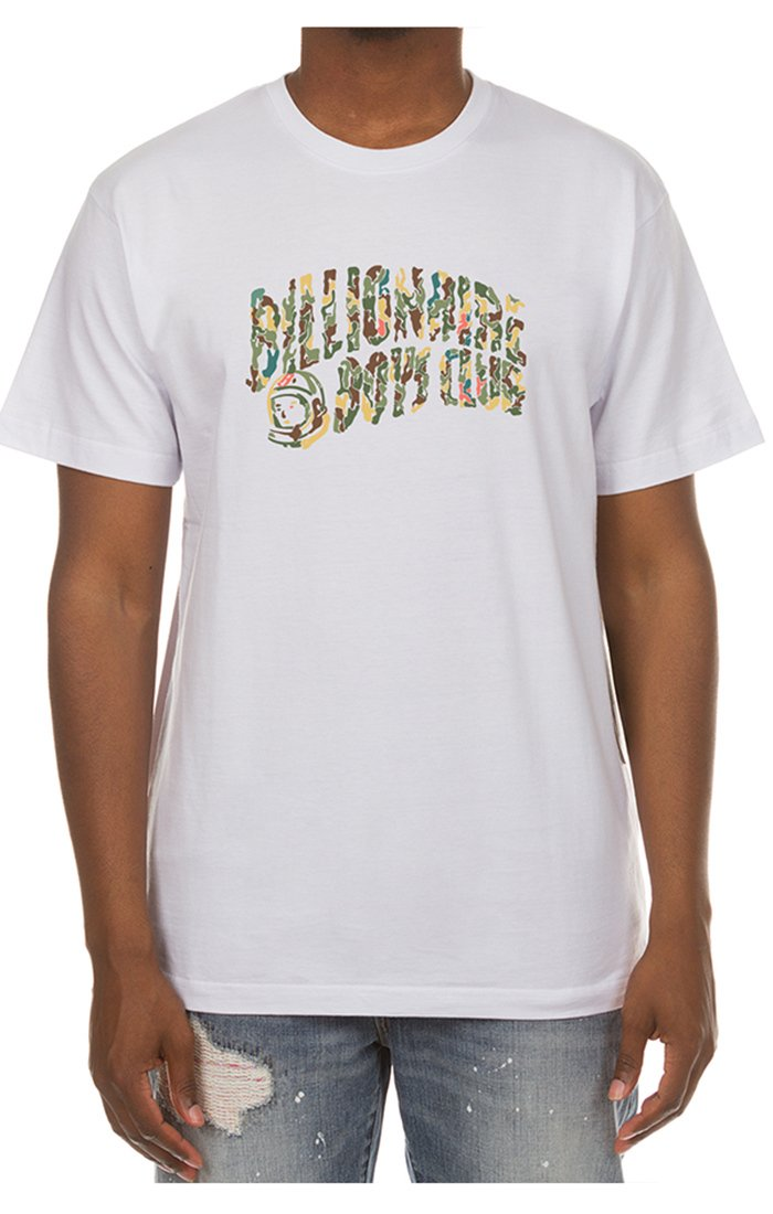 BILLIONAIRE BOYS CLUB - BB MICROGRAVITY SS TEE (WHITE)