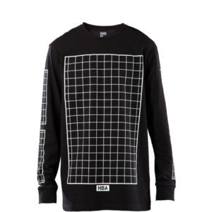 Hood By Air - Grid L/S T-Shirt