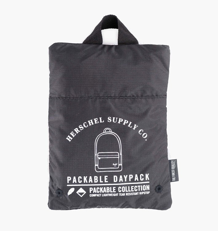 HERSCHEL - PACKABLE DAYPACK POLY (BLACK)