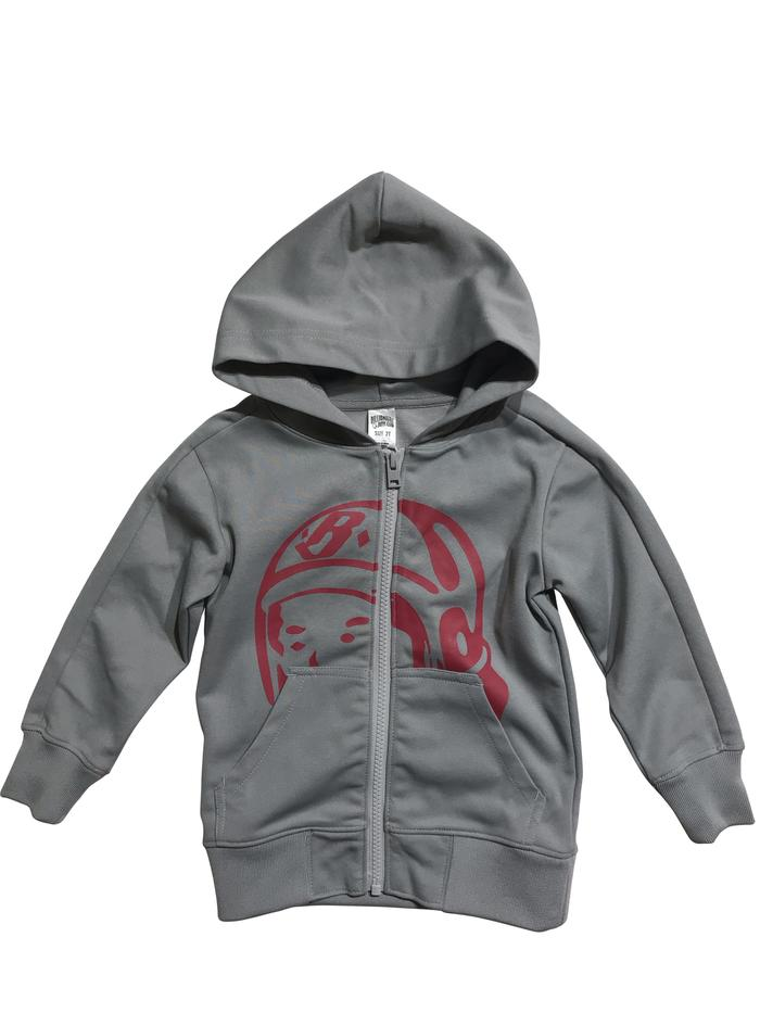 BILLIONAIRE BOY CLUB (KIDS) - BB ASTRO HELMET HOODY (HEATHER GREY)