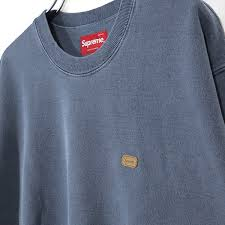 SUPREME - OVERDYED CREWNECK (WASHED BLACK)