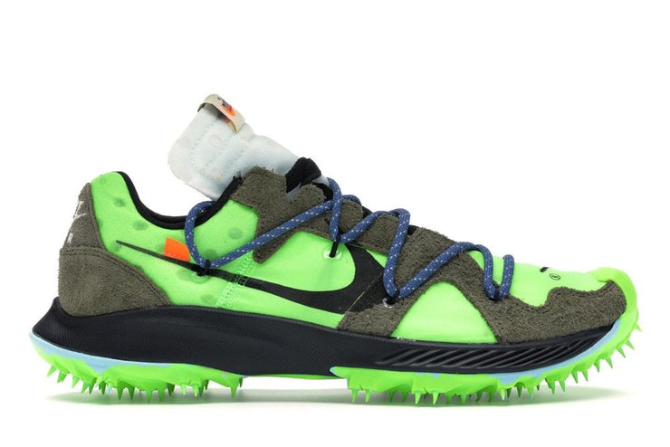 "W NIKE ZOOM TERRA KIGER 5 / ""OFF - WHITE"" ELECTRIC GREEN"