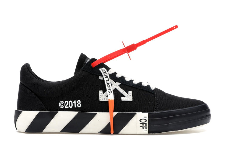 OFF-WHITE - VULC LOW (BLACK)