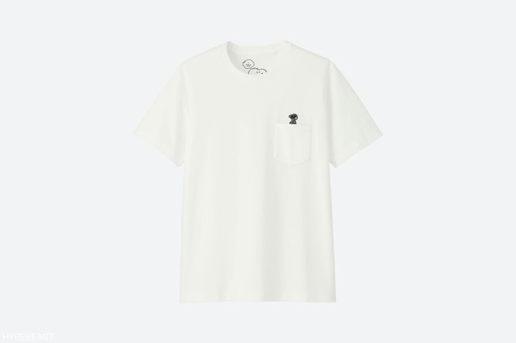 KAWS/PEANUTS/UNIQLO - SNOOPY POCKET TEE