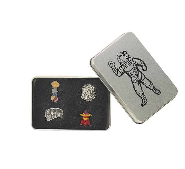 BILLIONAIRE BOYS CLUB - BB ASTRO TIN BOX (SILVER)
