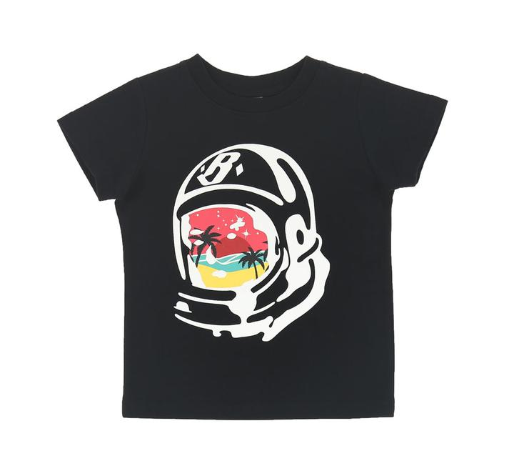 BILLIONAIRE BOYS CLUB (KIDS) - BB PARADISE HELMET SS TEE (BLACK)
