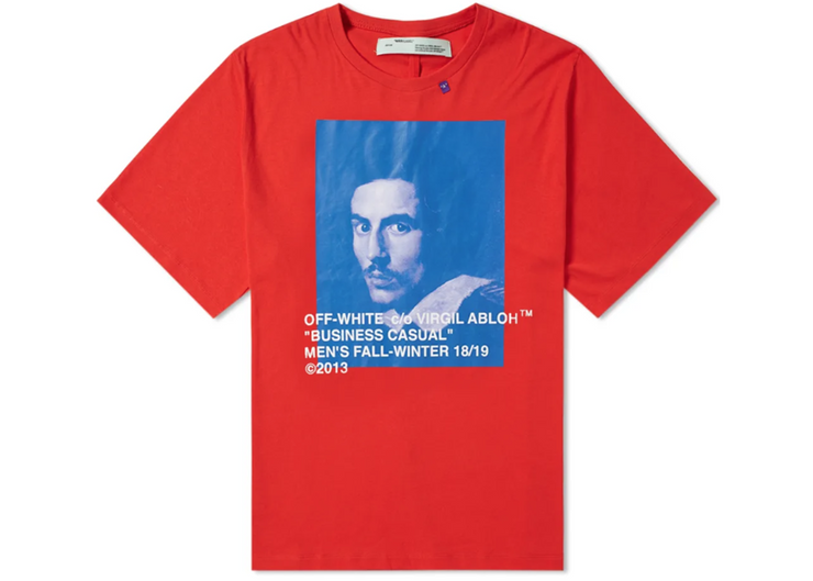 OFF-WHITE - BERNINI TEE (RED)