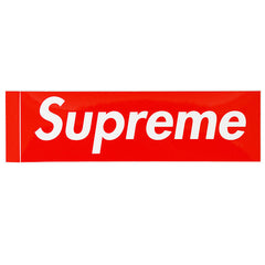 SUPREME - BOX LOGO STICKER (RED)