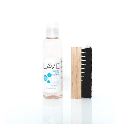 LAVE - PREMIUM SHOE CLEANING KIT (4oz. + BRUSH)