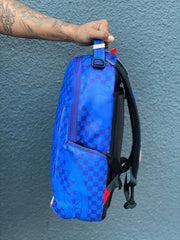 SPRAYGROUND - SHARKS IN PARIS BACKPACK (ROYAL BLUE)