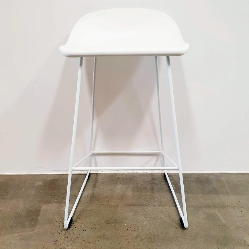 Allium Space Stool - 46 X 46 X 80cm / White - Stools