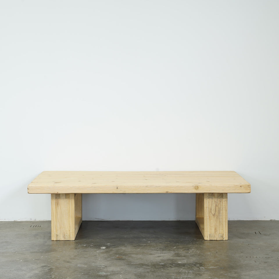 California Recycled Pine Coffee Table