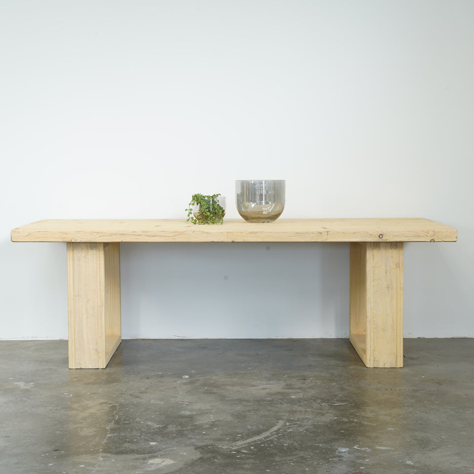 California Recycled Pine Dining table - Dining Table -