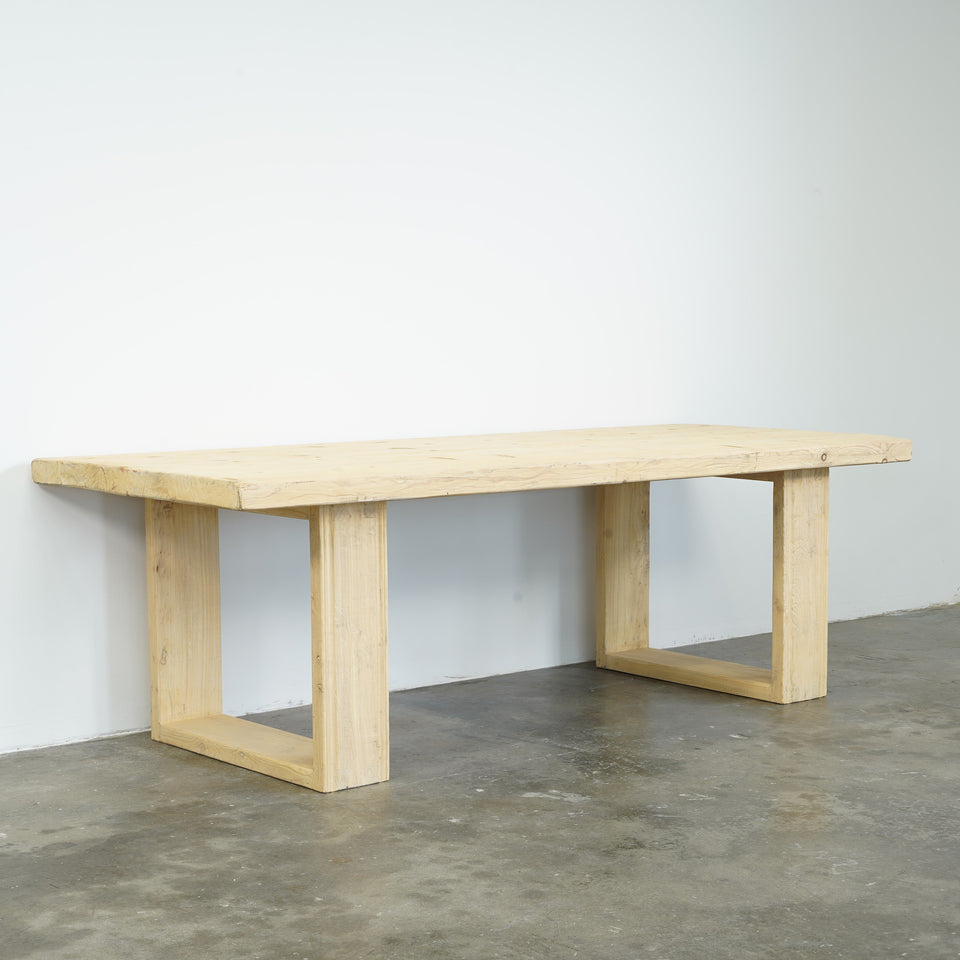 California Recycled Pine Dining table