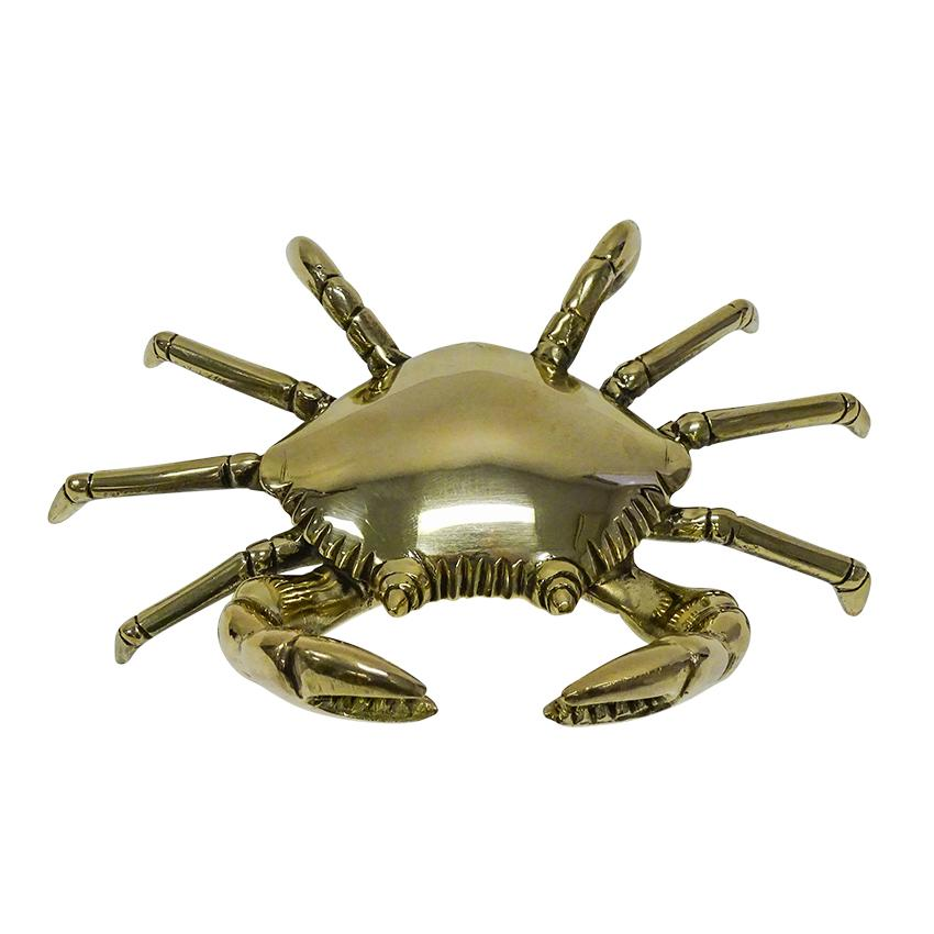 Clive Crab Décor - 16 X 13 X 6.5cm / Brass - Decor