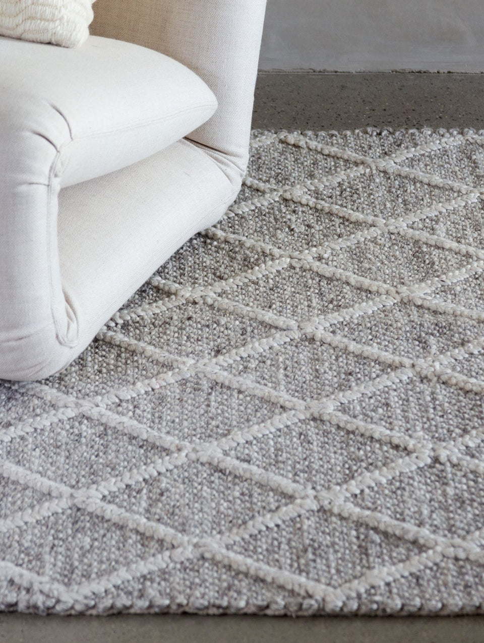 Cornelius Lattice Weave Rug
