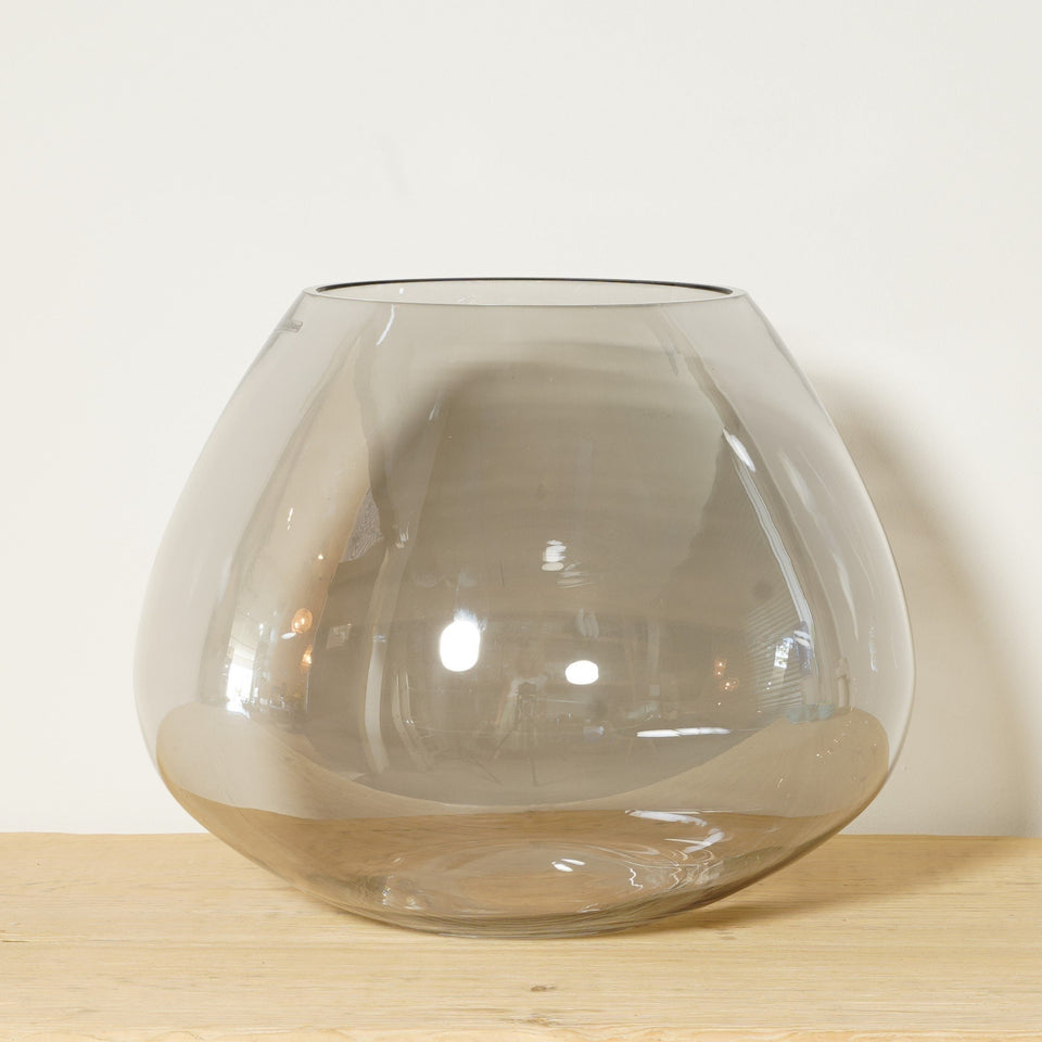 Crotone Glass Vase Teardrop - Vases