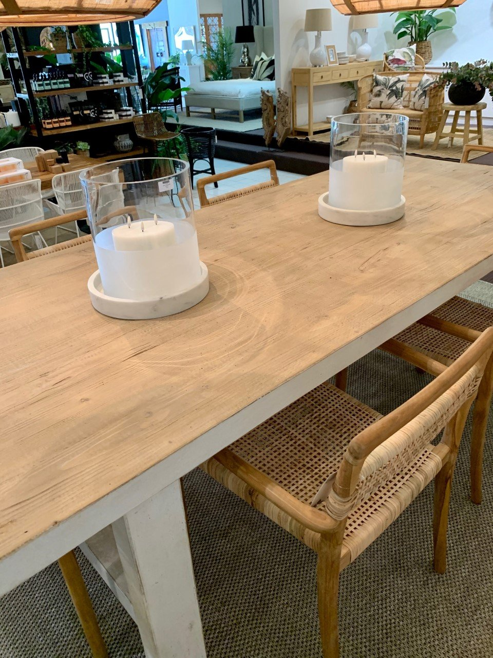 Desert Recycled Pine Dining Table