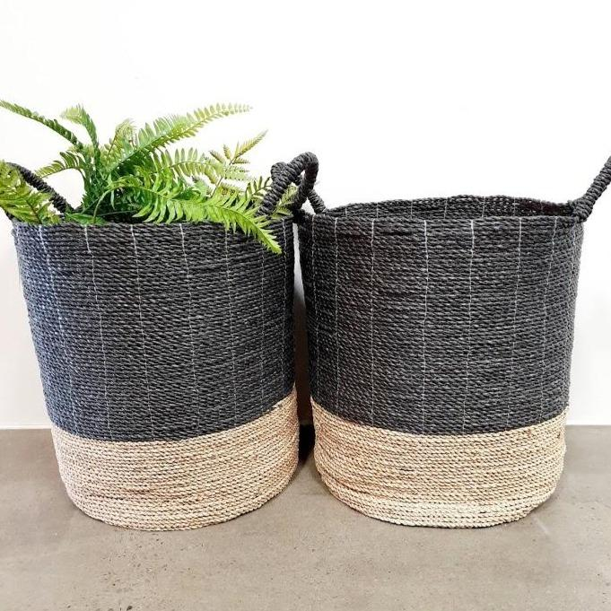 Gather Seagrass Basket - Baskets