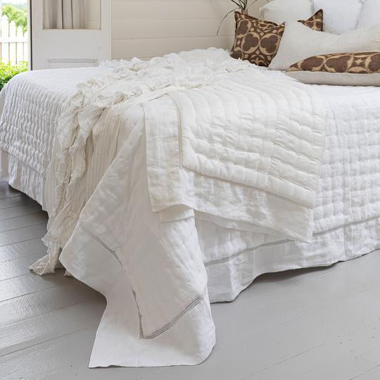 Grace Linen and Silk Throw