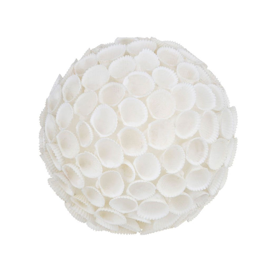 Jollie Deco Ball - 12 X 12 X 12cm / White - Decor