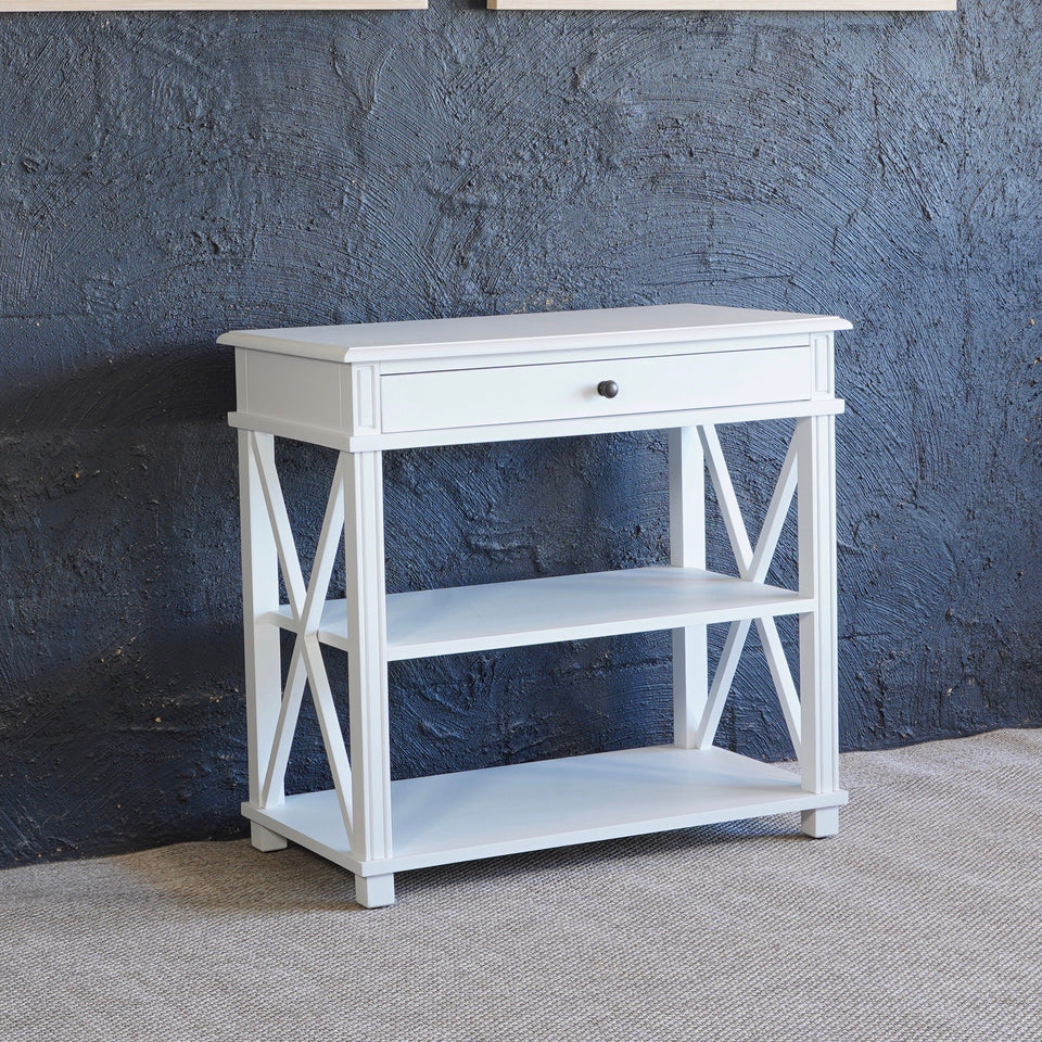 Mantra Bedside table - 80 X 45 X 76cm / White - Side Tables