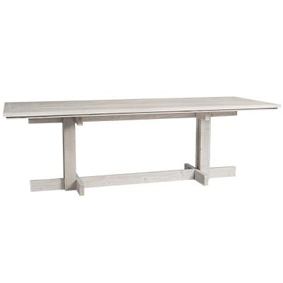 Niche Kitchen Dining Table - 240 X 90 X 76cm / Whitewash -