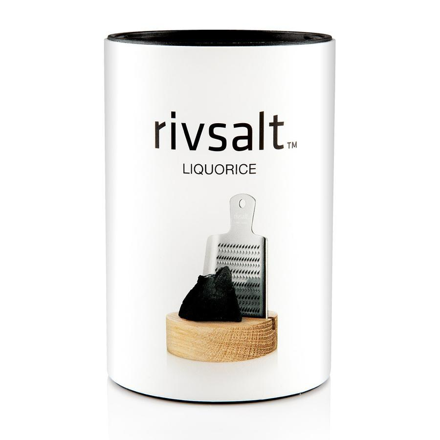 Rivsalt Premium Liquorice Rock Salt - 150gm - Kitchen