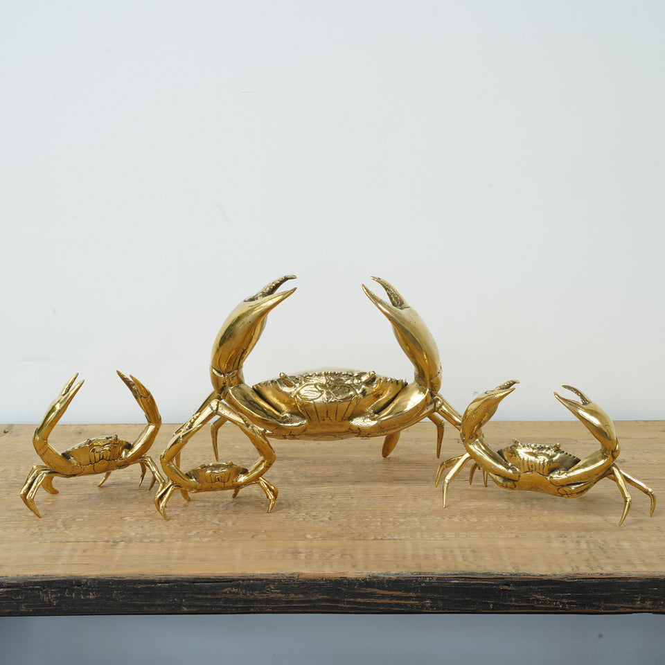 Victor Brass Crab - Decor