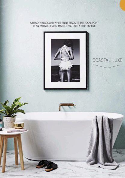 Swim, featured in Real Living magazine.