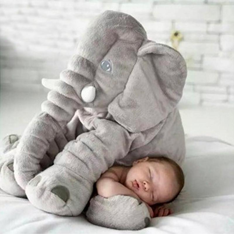 Giant Elephant Baby Pillow Camp Cute
