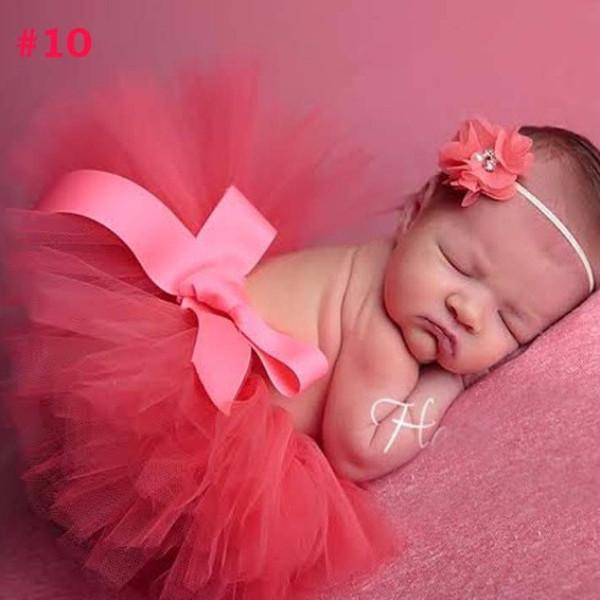 Newborn tutu and vintage headband sets