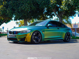 BMW M4 - eMMOTION Lowering Springs and SSR Performance Spacers